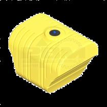 500 Gallon Tractor Mounted Tank - Yellow