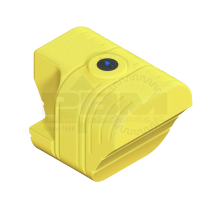 500 Gallon Tractor Mounted Tank - Molded-In Step - Yellow
