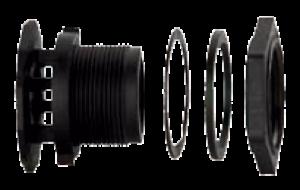 1 1/4″ Anti-Vortex Bulkhead Fitting - EPDM