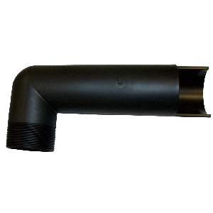 "1 1/2"" Polypropylene Siphon Tube - 12 Inch"