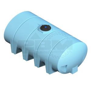 1610 Gallon Heavy Duty Drainable Leg Tank Without Fitting - Blue