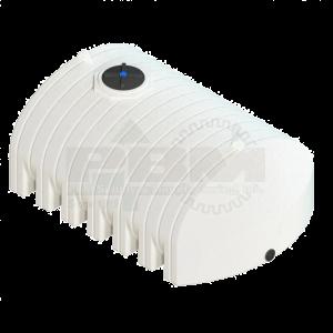 1600 Gallon Flat Bottom Tank - White