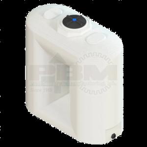 1000 Gallon Free Standing Water Tank - White