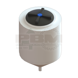 65 Gallon Inductor Tank - White