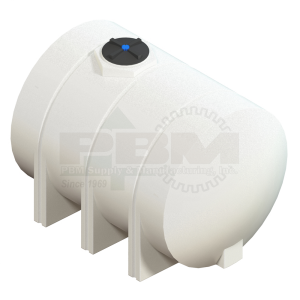 1310 Gallon Drainable Leg Tank Without Fitting - White