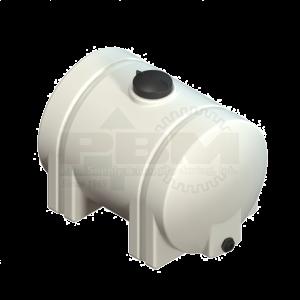 55 Gallon Horizontal Leg Tank - White
