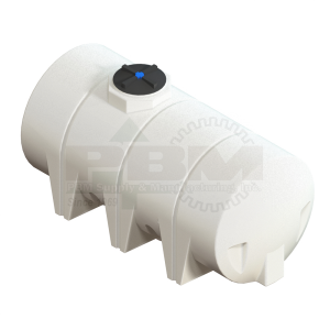 710 Gallon Drainable Leg Tank - White
