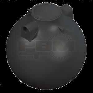 500 Gallon Spherical Pump Tank