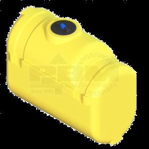 150 Gallon Tractor Mounted Tank - Yellow
