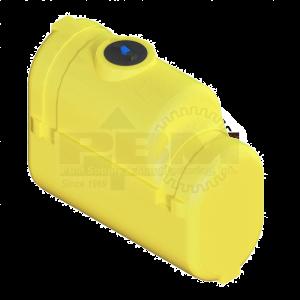 200 Gallon Tractor Mounted Tank - Yellow