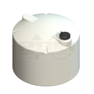 120 Gallon Vertical Storage Tank - White